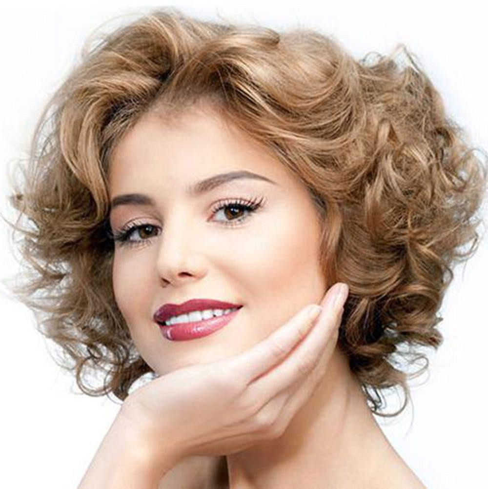 Find Out Full Gallery Of Terrific Best Short Haircuts For Curly Throughout Short Haircuts For Wavy Frizzy Hair (View 10 of 25)