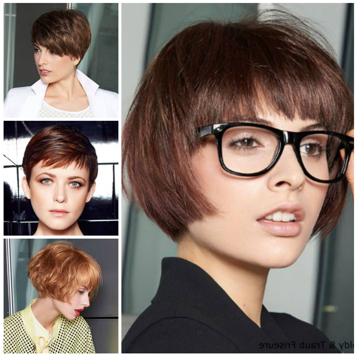 Find Out Full Gallery Of Unique Short Hair For Oval Face 2017 With Short Hairstyles For Spring (View 10 of 25)