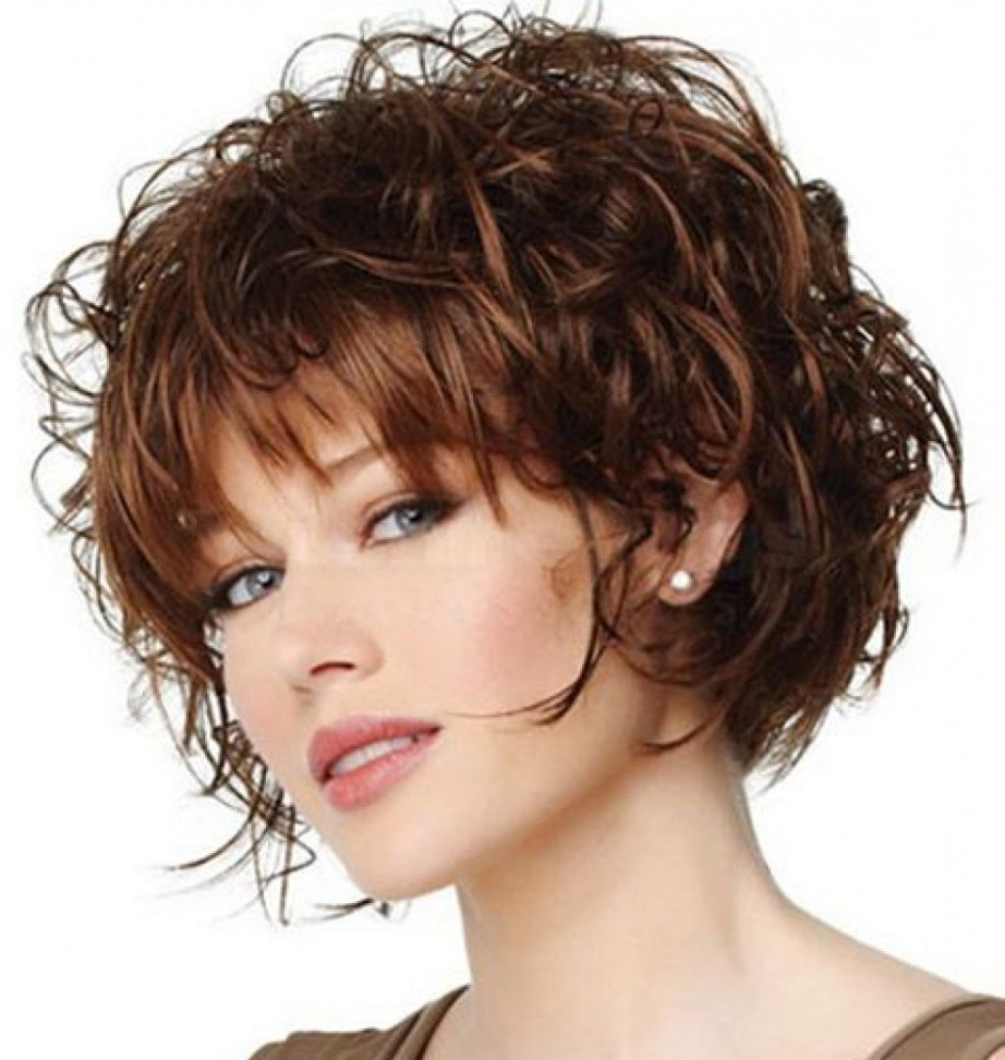 Fine Curly Hairstyles With Bangs Archives • Detroitairportshuttles Regarding Short Fine Curly Hair Styles (View 13 of 25)