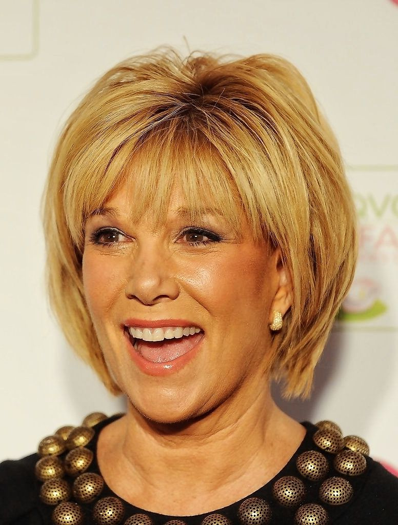 Fine Hair And Round Face Fine Hairstyles Short Hairstyles For Women With Short Hairstyles With Bangs For Fine Hair (View 19 of 25)