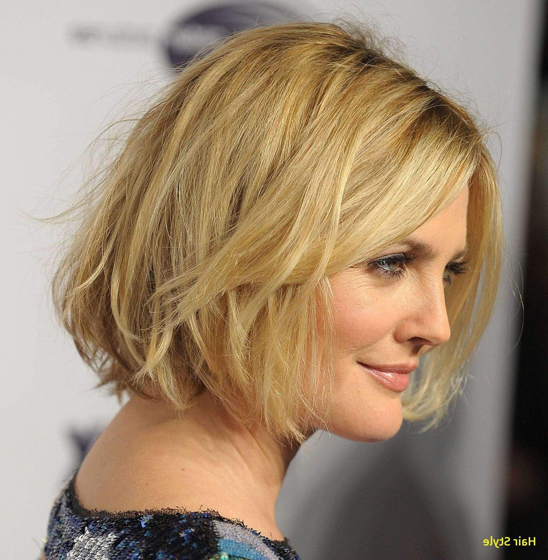 Fine Hair Round Face Short Hairstyles Awesome Elegant Hairstyles For With Short Hairstyles For A Round Face (View 20 of 25)