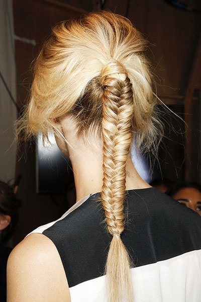 Fishtail Braided Ponytail – Prom, Party, Formal – Careforhair.co (View 21 of 25)