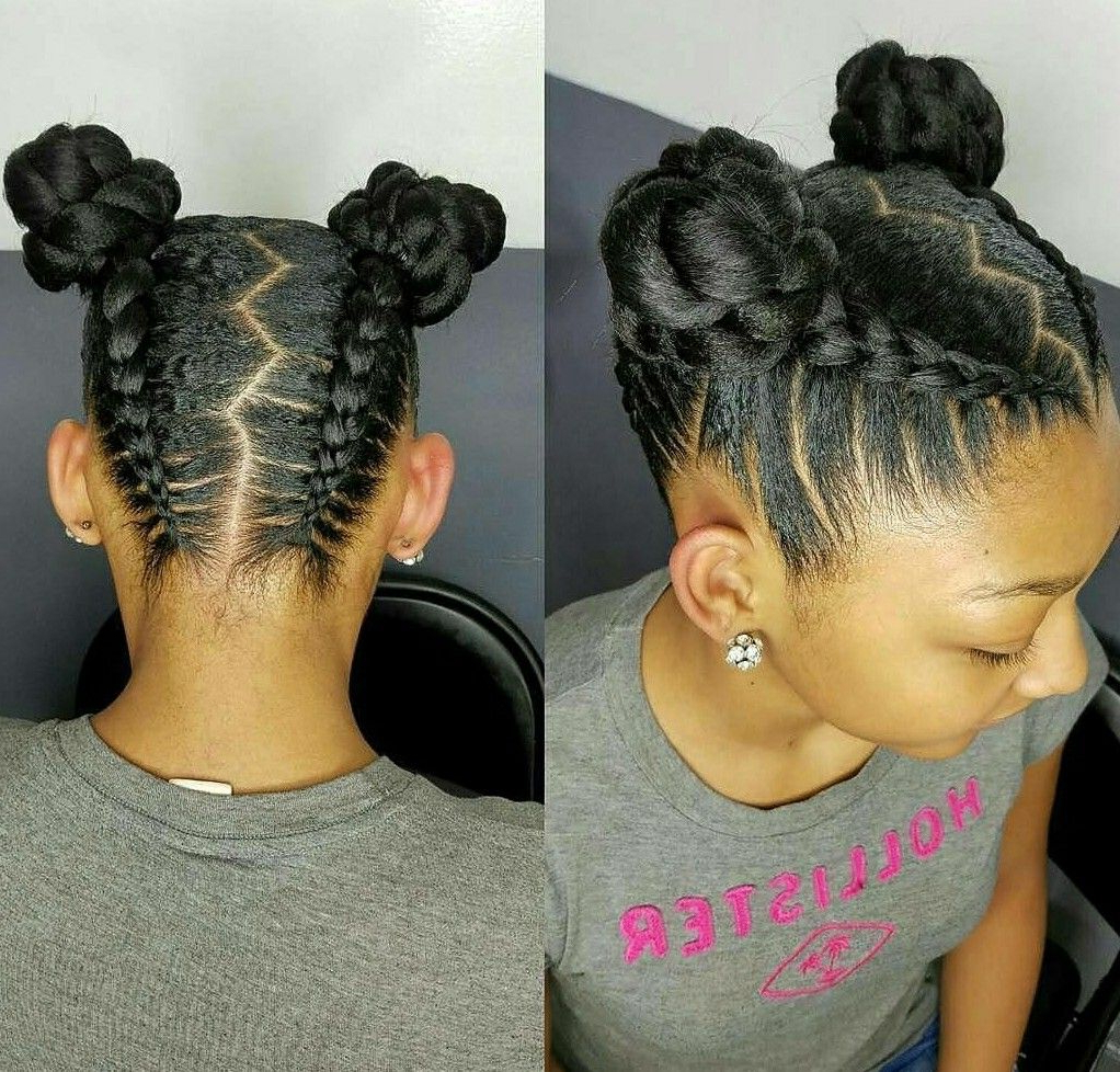 Follow These Steps For A Clear Complexion In 2018 | Hair | Pinterest Inside Cute Short Hairstyles For Black Teenage Girls (View 12 of 25)