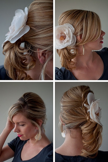 Formal Hairdo: Twist & Pin Side Ponytail – Hairstyles Weekly Inside Twisted And Pinned Blonde Ponytails (View 15 of 25)