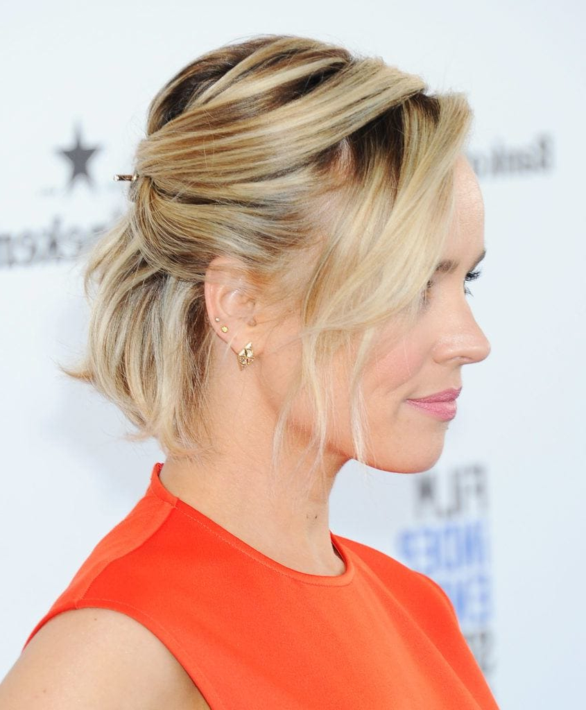 Formal Hairstyles For Short Hair: A-List Styles We're Crushing On throughout Short Formal Hairstyles