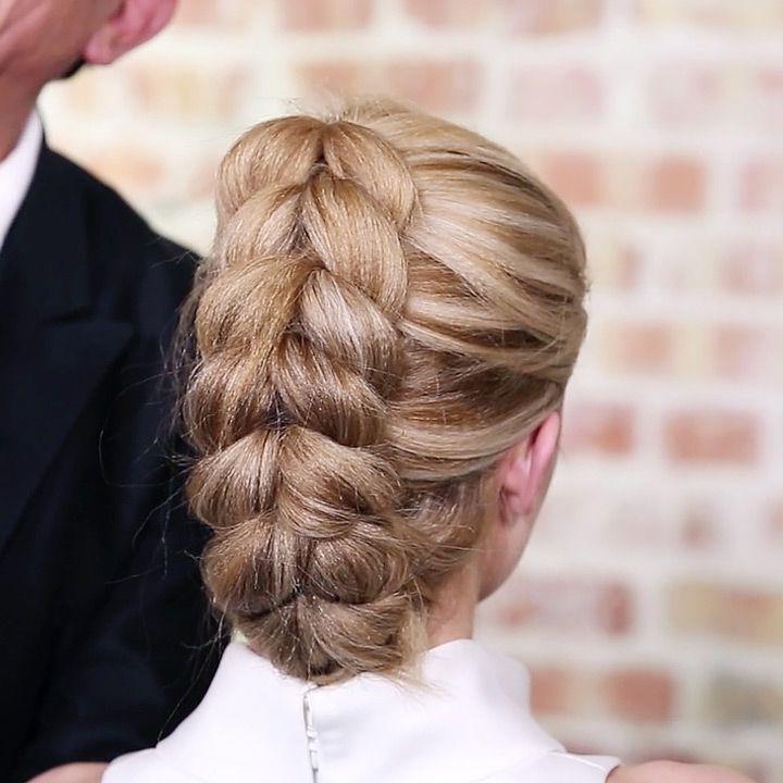 French Pull Through Braid Ponytail | Sam Villa On Youtube | Hair Within Artistically Undone Braid Ponytail Hairstyles (View 8 of 25)