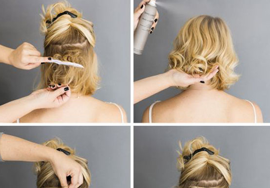 French Twist For Short Hair | Makeup Mania with regard to Short Messy Hairstyles With Twists
