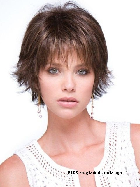 Fringe Short Hairstyles 2015 Adorable Short Hairstyles With Wispy In Short Red Haircuts With Wispy Layers (View 16 of 25)