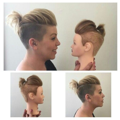 Fun Undercut! Disconnected Haircutstephanie@aufait | Pixie Cuts regarding Disconnected Pixie Hairstyles For Short Hair