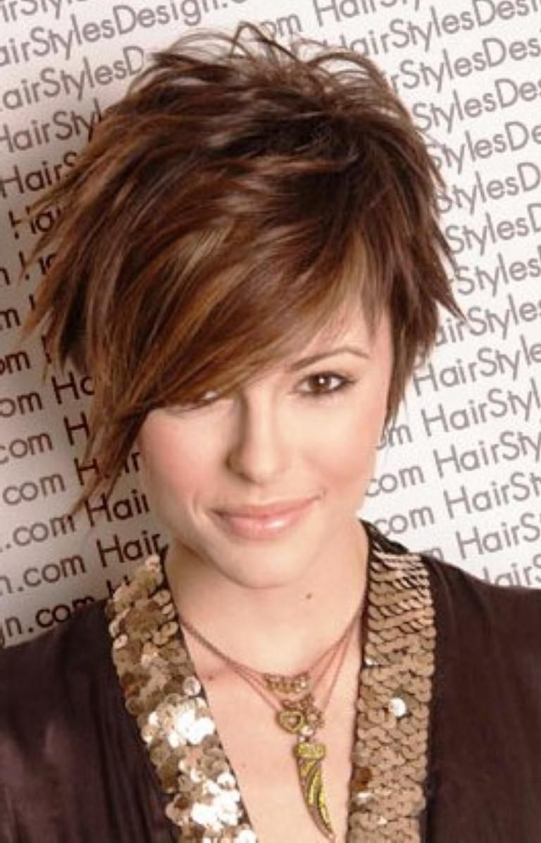 Funky Asymmetrical Haircut 02 – Latest Hair Styles – Cute & Modern With Short Haircuts For Heavy Set Woman (View 8 of 25)