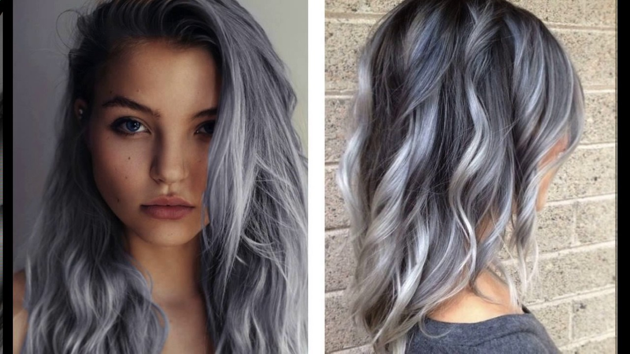 Funky Grey Hair Short Haircuts - Youtube intended for Gray Hair Short Hairstyles