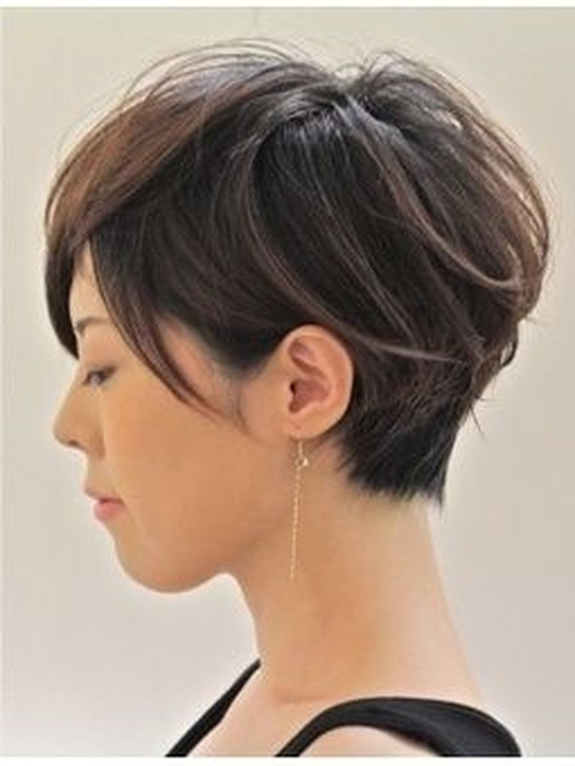 Funky Short Pixie Haircut With Long Bangs Ideas 46   Hair In 2018 Intended For Short Haircuts With Longer Bangs (View 2 of 25)