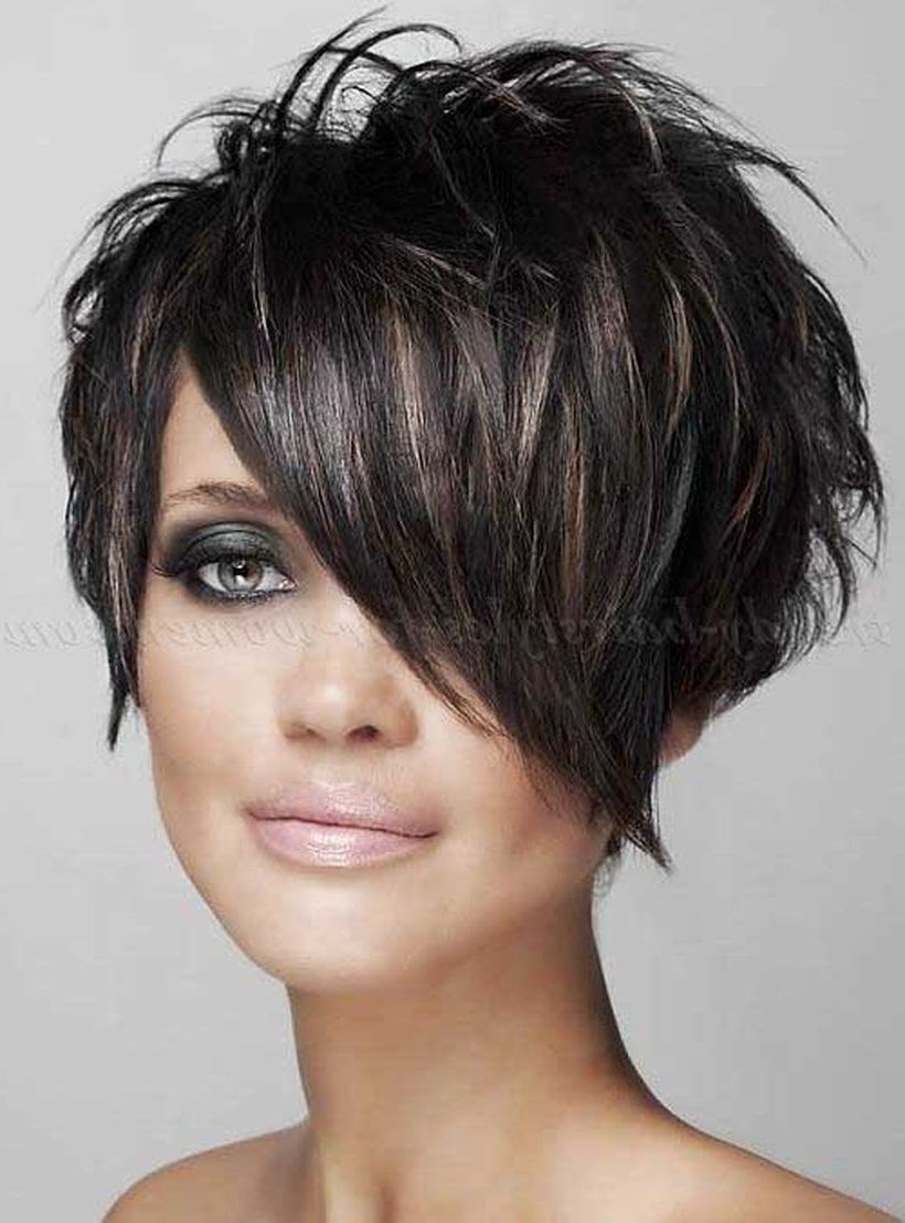 Funky Short Pixie Haircut With Long Bangs Ideas 98   Hair Styles I Within Short Haircuts With Longer Bangs (View 22 of 25)