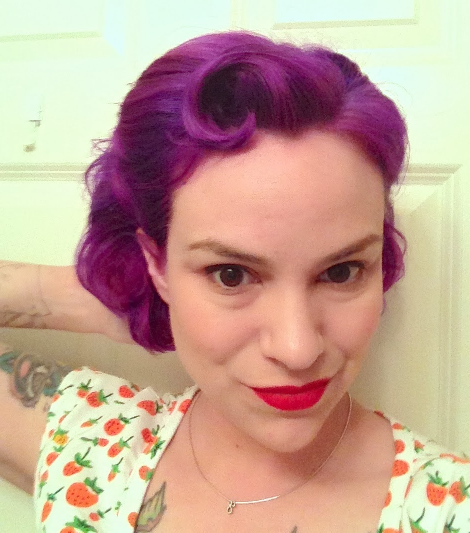 Gertie's New Blog For Better Sewing: Easy Retro Hairstyle For Short Hair For Vintage Hairstyle For Short Hair (Gallery 10 of 25)