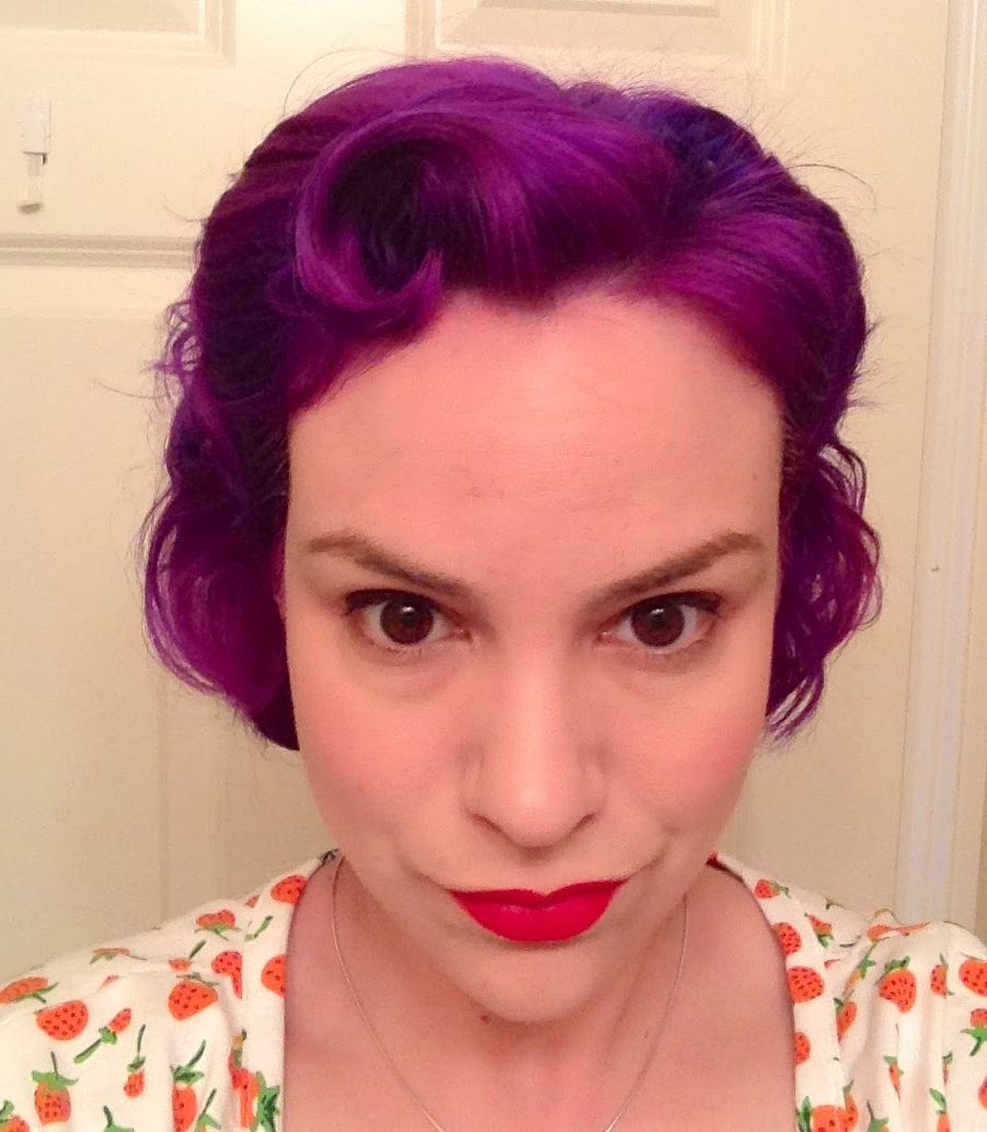 Gertie's New Blog For Better Sewing: Easy Retro Hairstyle For Short Hair with Vintage Hairstyle For Short Hair