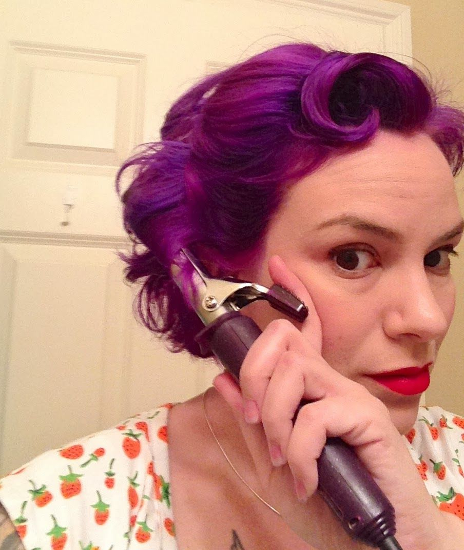 Gertie's New Blog For Better Sewing: Easy Retro Hairstyle For Short Intended For Vintage Hairstyle For Short Hair (Gallery 7 of 25)