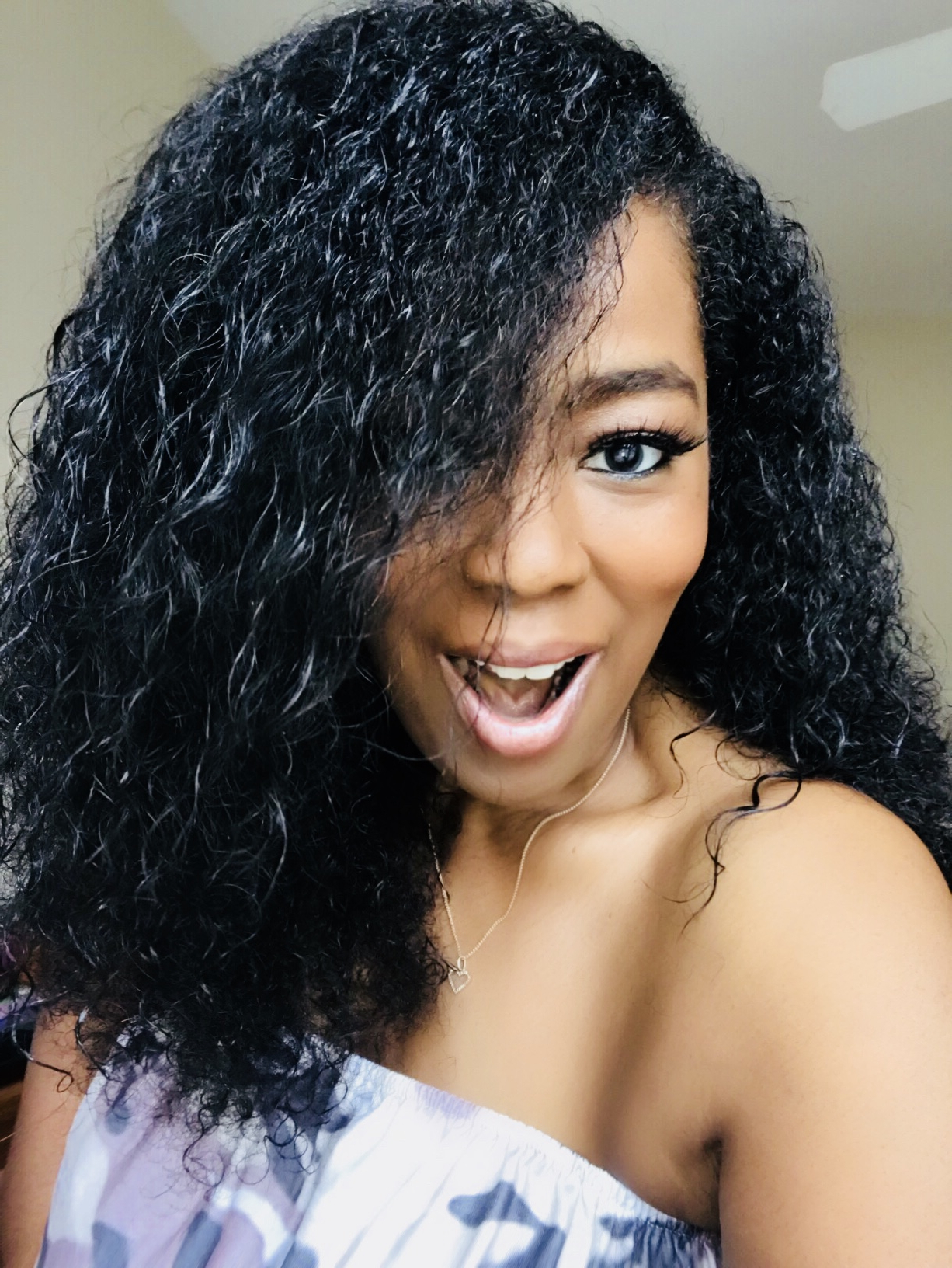 Get The Look: Smooth N Shine Curly Line! – Talking With Tami Within Curly Hairstyles With Shine (Gallery 22 of 25)