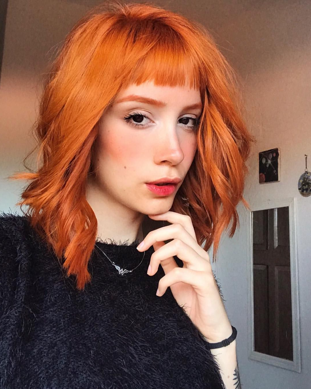 Ginger Hair, Short Bangs | Short Bangs In 2018 | Pinterest | Hair Regarding Short Hairstyles With Red Hair (View 7 of 25)