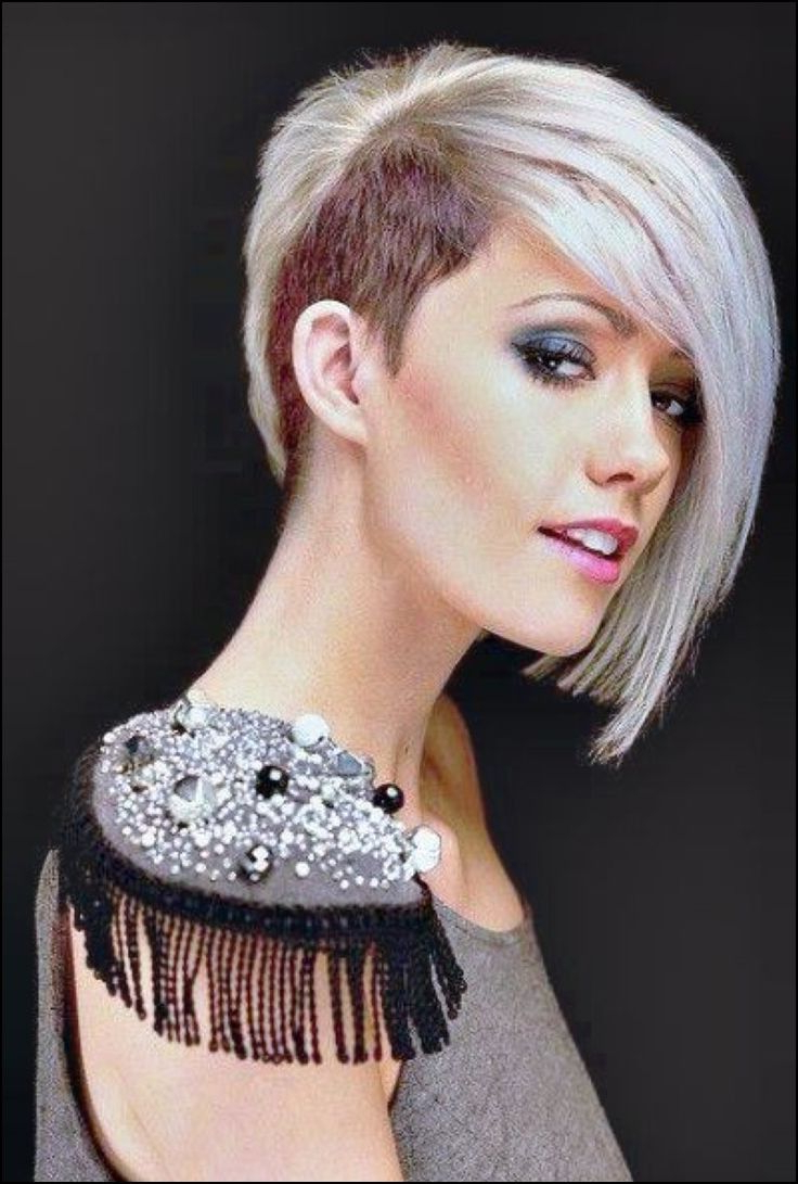 Girl Haircut One Side Shaved | Hair And Beauty In 2018 | Pinterest Within Short Haircuts With One Side Shaved (Gallery 3 of 25)