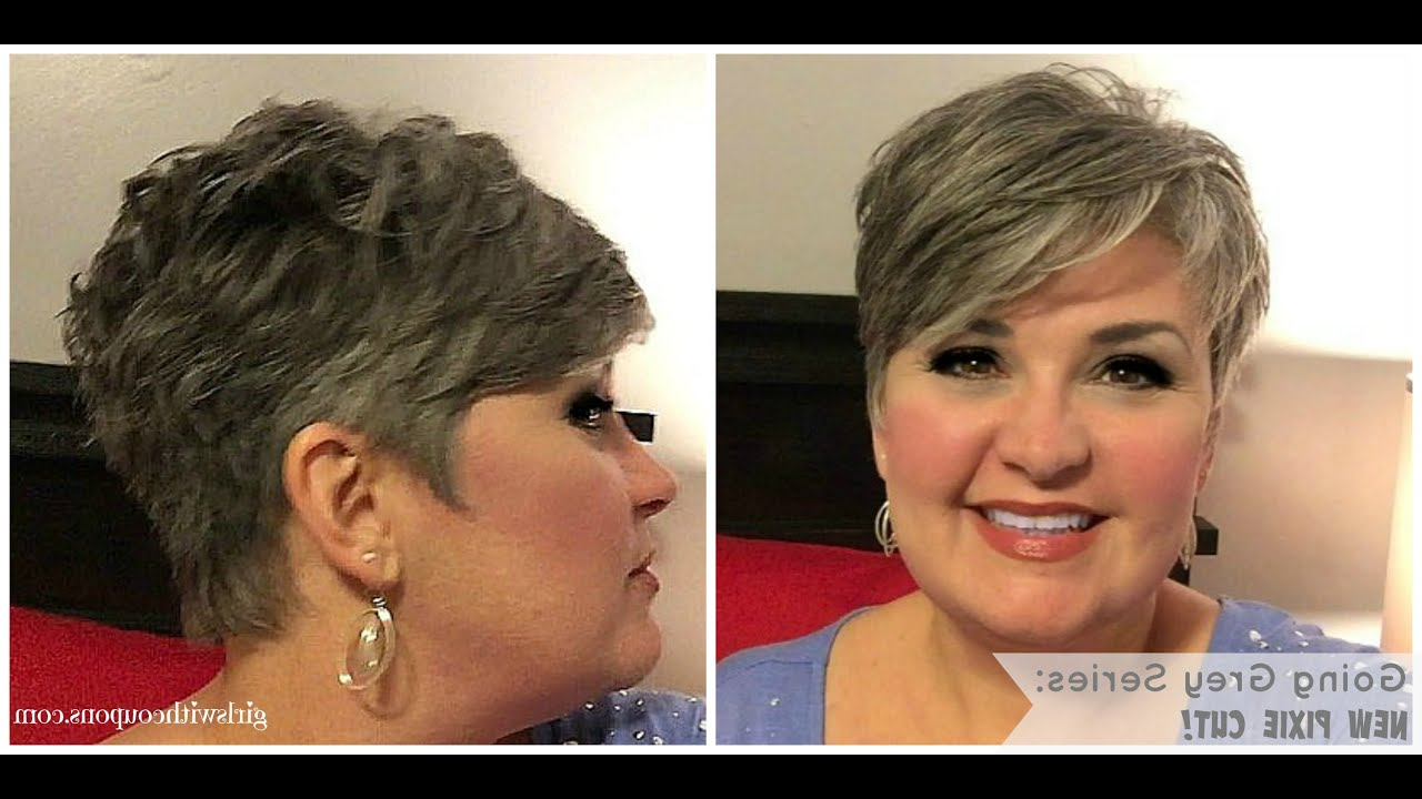 Going Grey Series: The New Pixie And Styling Paste For Short Hair With Short Haircuts For Coarse Gray Hair (Gallery 7 of 25)