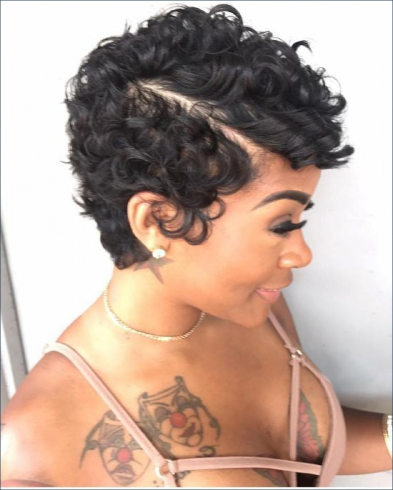 Good Pictures Of Black Short Hairstyles | Hairstyles Ideas Regarding Black Short Hairstyles (View 3 of 25)