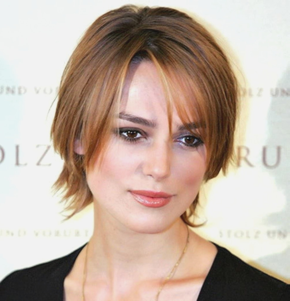 Good Short Hairstyles For Fat Faces And Double Chins  Alwaysdc Regarding Short Hairstyles For Fine Hair And Fat Face (Gallery 12 of 25)