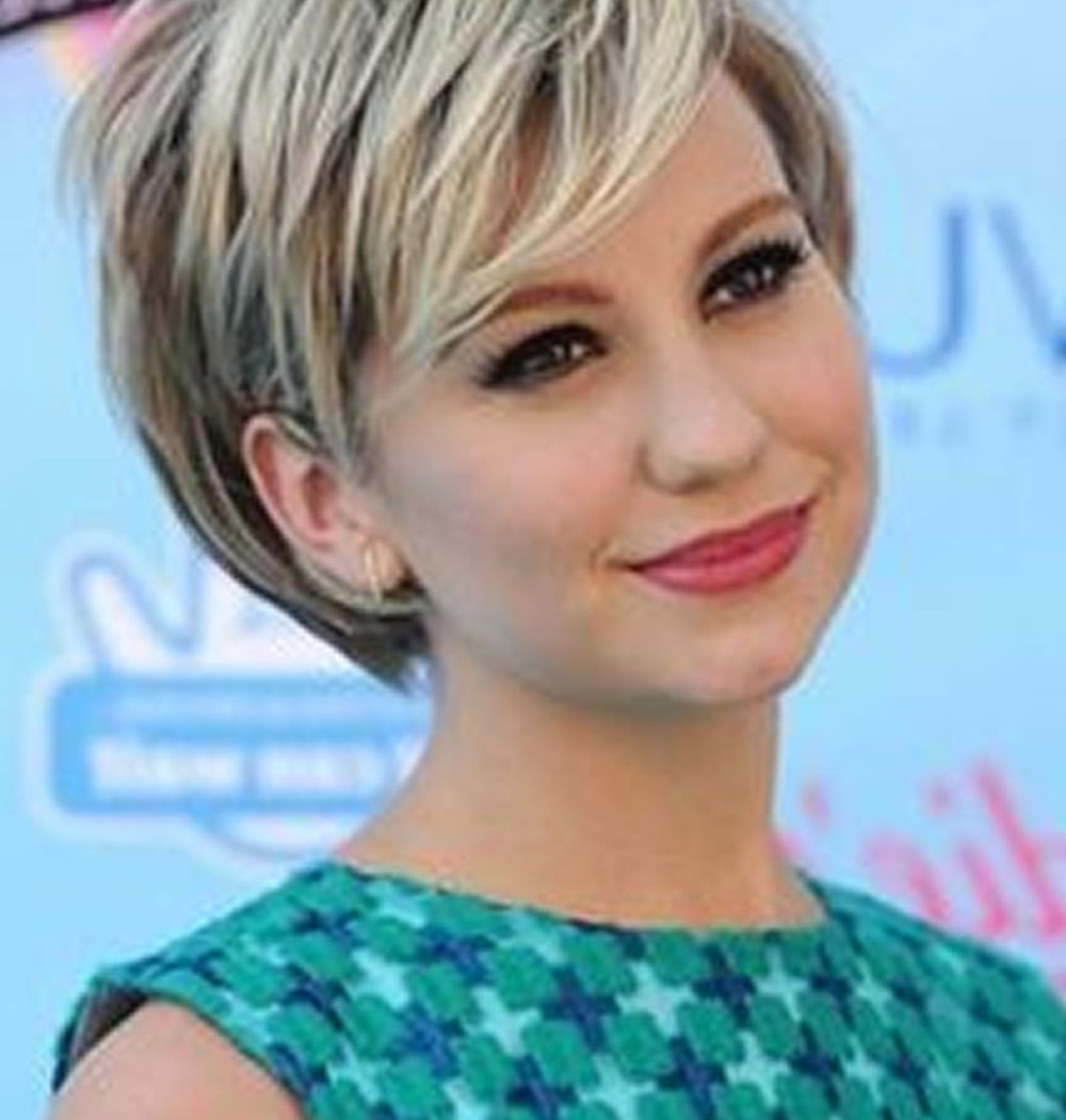 Good Short Hairstyles For Fat Faces And Double Chins  Alwaysdc With Short Hairstyles For Fine Hair And Fat Face (Gallery 20 of 25)