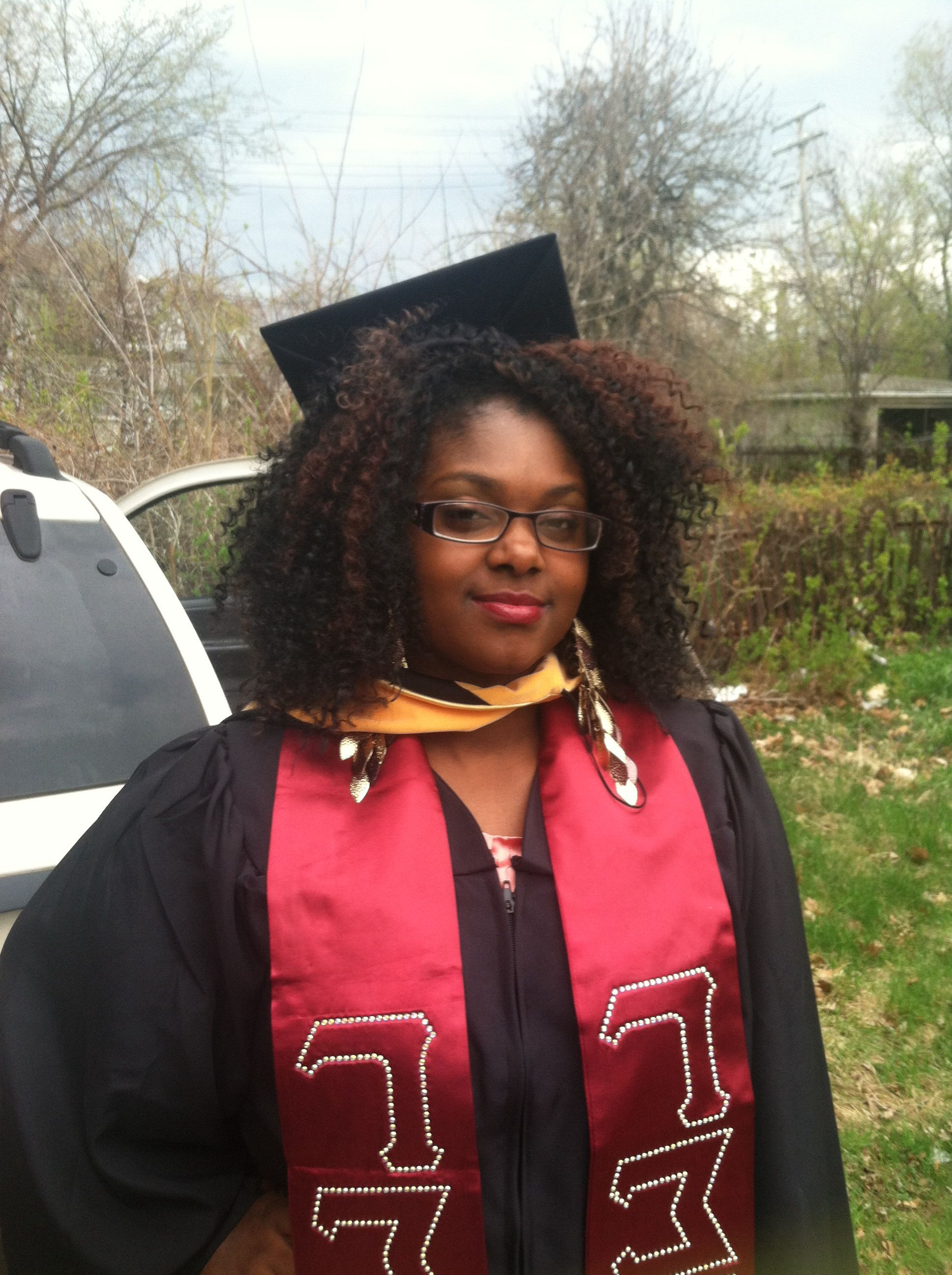 Graduation Cap And Crochet Braids | Natural Hair In 2018 | Pinterest Within Graduation Cap Hairstyles For Short Hair (View 24 of 25)