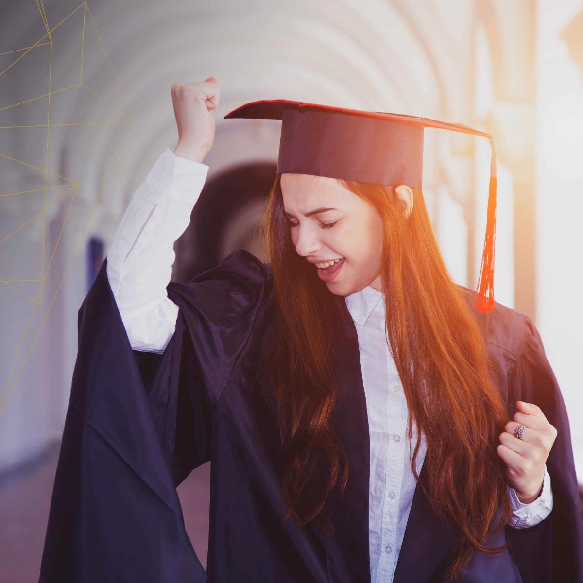 Graduation Hairstyles Your Clients Can Rock Under Their Cap With Regard To Short Hair Graduation Cap (Gallery 17 of 25)