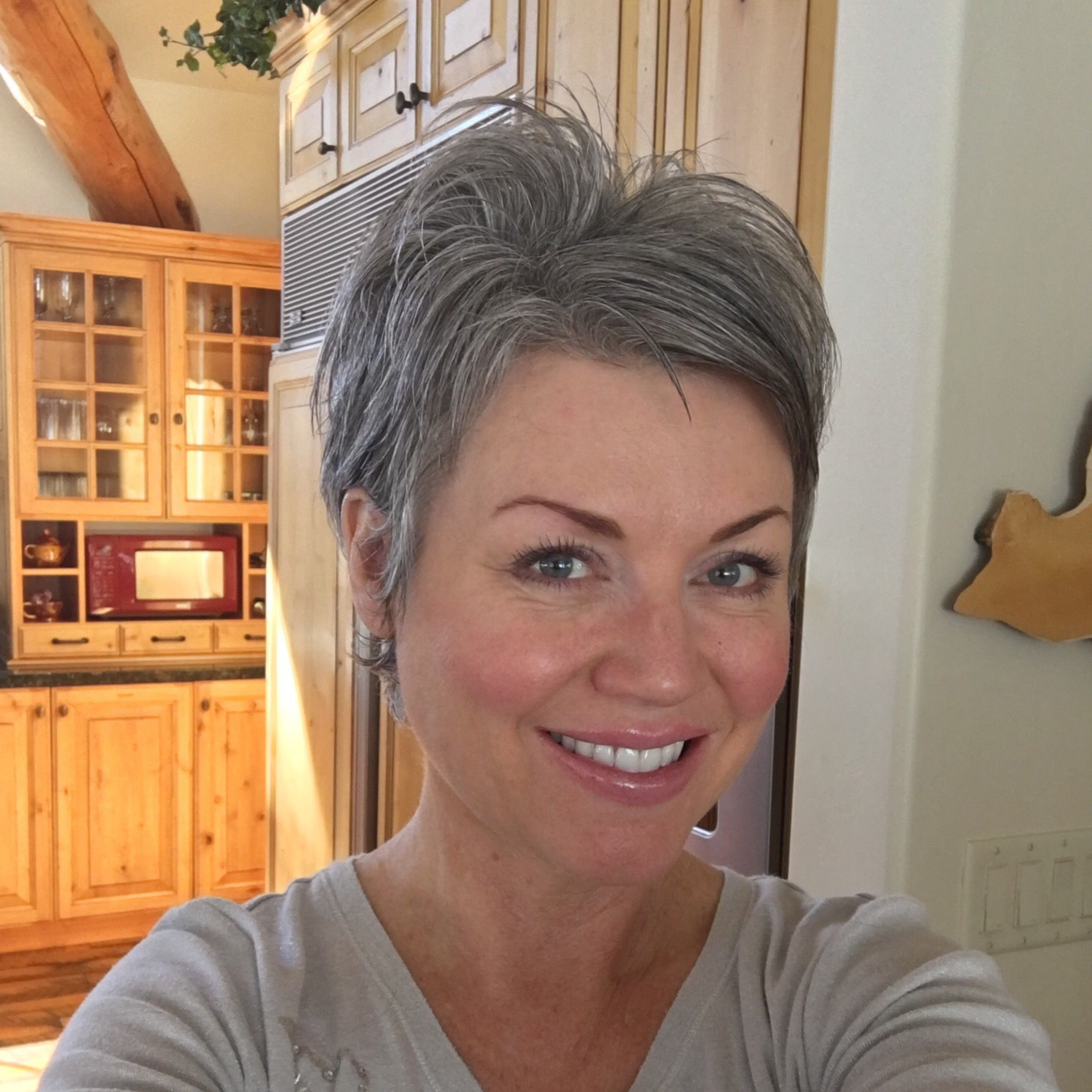 Gray Hair | Gray Hair | Pinterest | Gray Hair And Hair Style Within Short Haircuts With Gray Hair (Gallery 15 of 25)