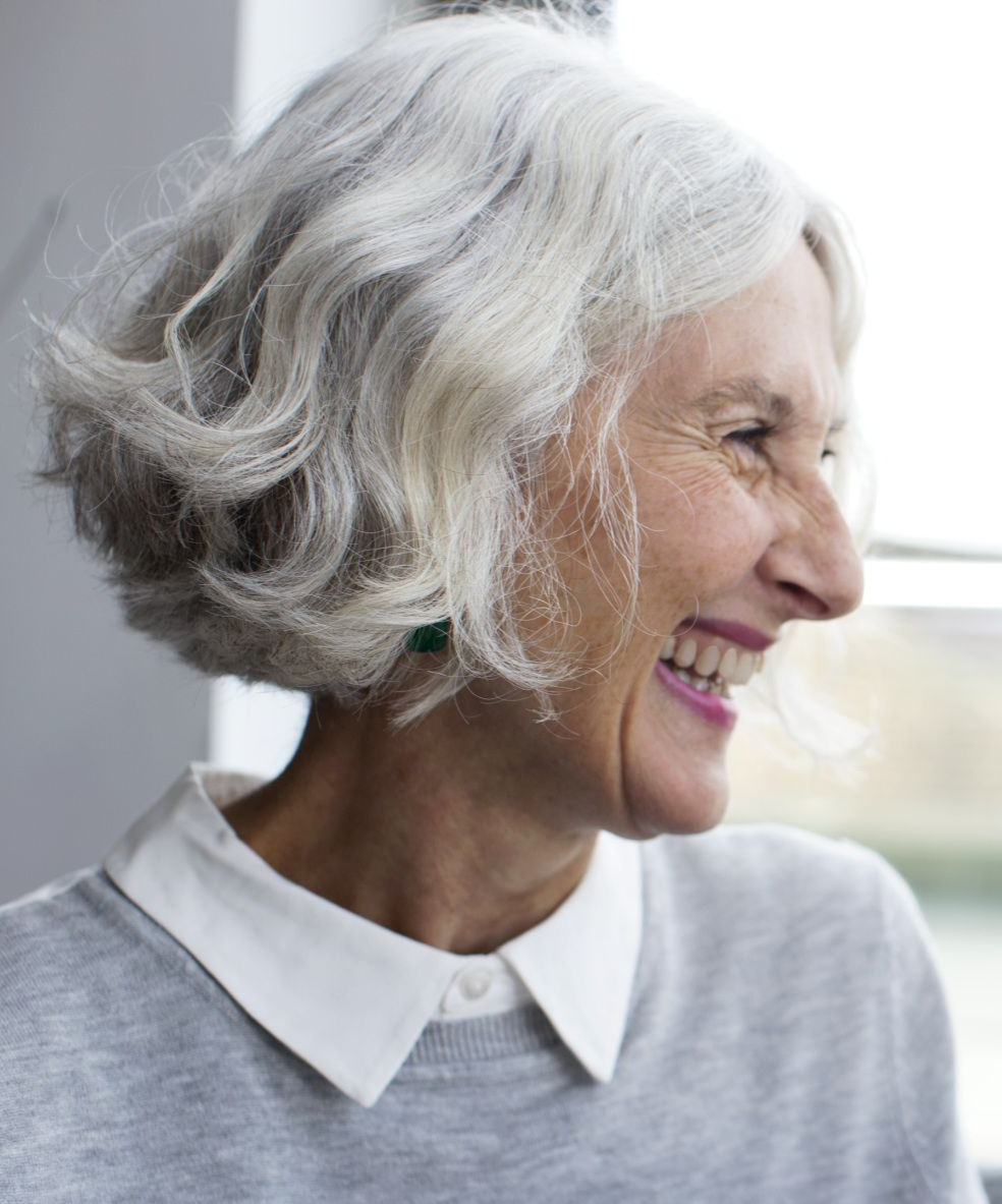 Great Haircuts For Women Over 70 Inside Short Hairstyles For Grey Haired Woman (Gallery 15 of 25)