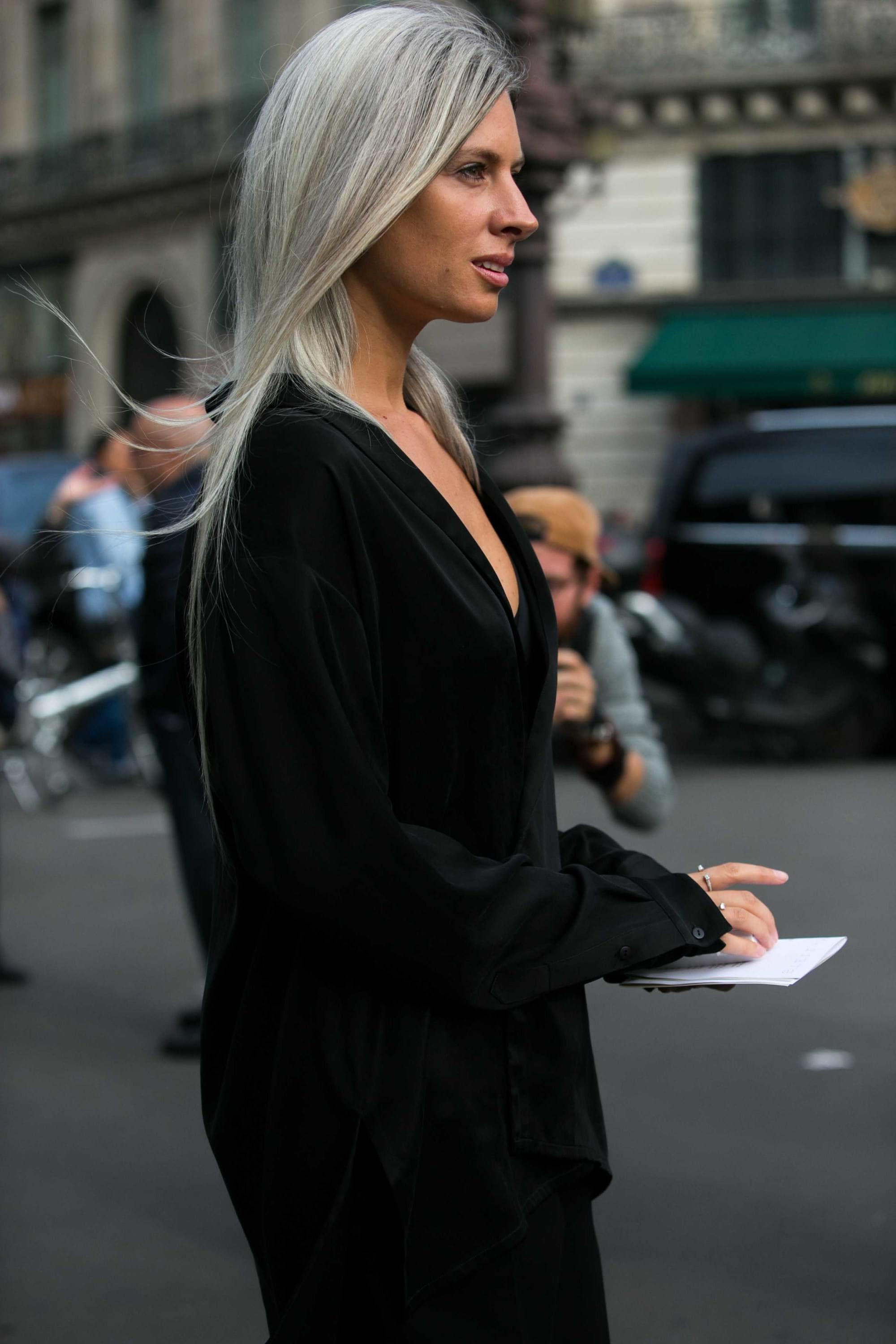 Grey Hair: 22 Ways To Rock This Season's Surprise Colour Trend intended for Short Hairstyles For Grey Haired Woman