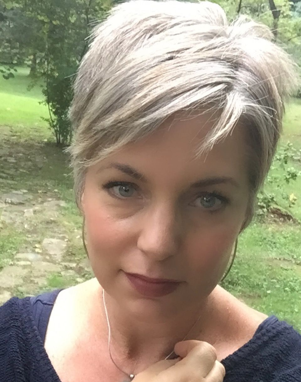 Grey Hair Pixie, Grey Short Haircut – | Hair Styles | Pinterest With Regard To Short Hairstyles For Grey Hair (Gallery 2 of 25)