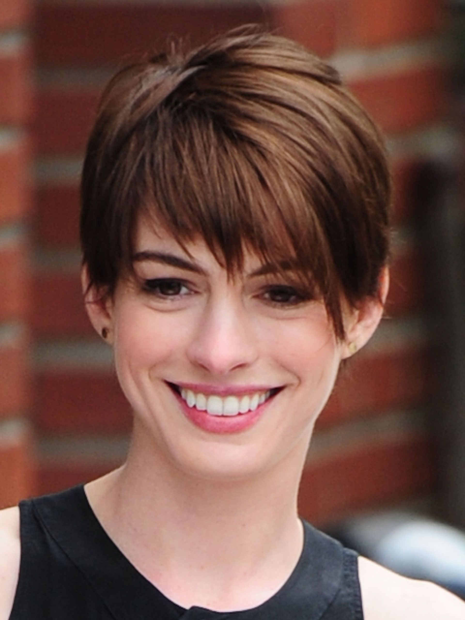 Growing Out Short Hair – Hairstyles For Growing Out Hair Inside Anne Hathaway Short Hairstyles (Gallery 18 of 25)