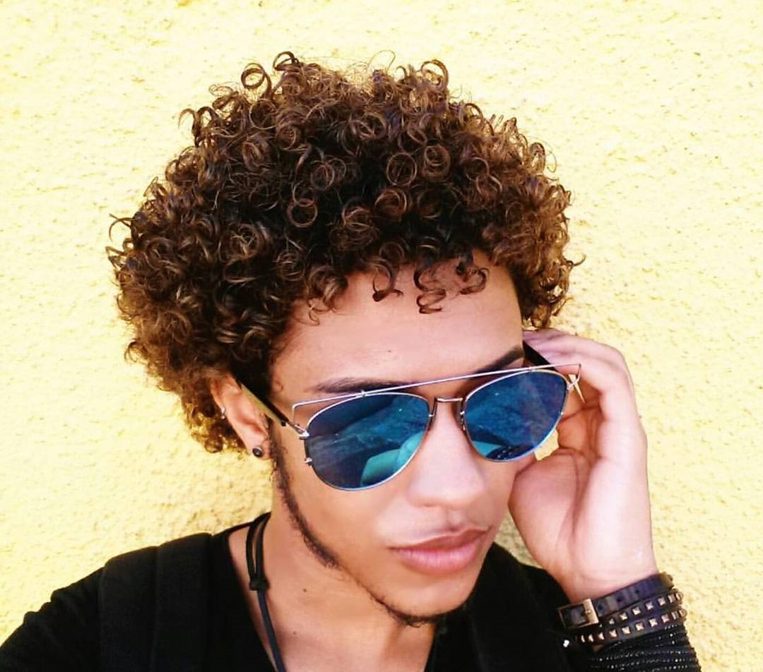 Guide For Men: Short Curly Hairstyles Regarding Trendy Short Curly Hairstyles (View 18 of 25)