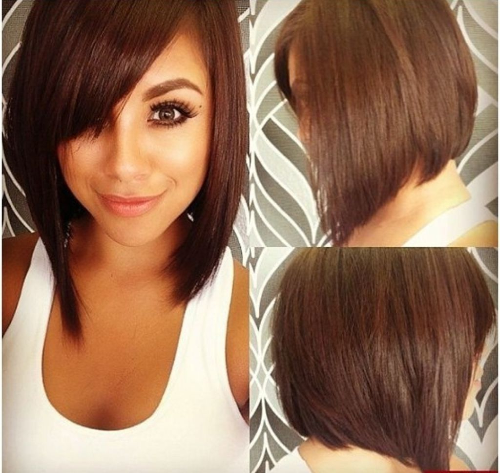 Hair Cuts : Bob Haircuts For Round Faces And Fine Hair Thick Female Regarding Flattering Short Haircuts For Round Faces (View 15 of 25)
