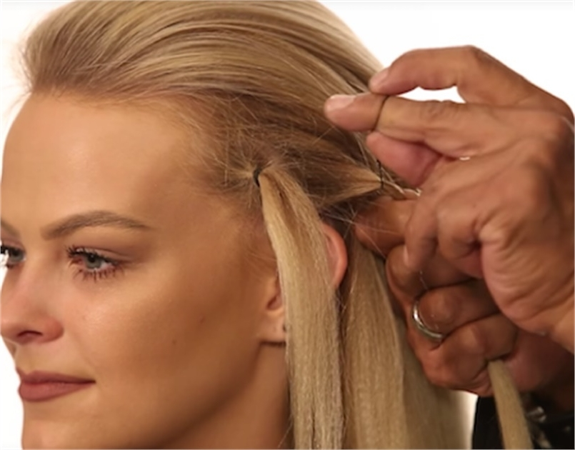 Hair Hack: How To Protect Hair From Elastic Damage – Hairstyling Intended For Artistically Undone Braid Ponytail Hairstyles (View 21 of 25)