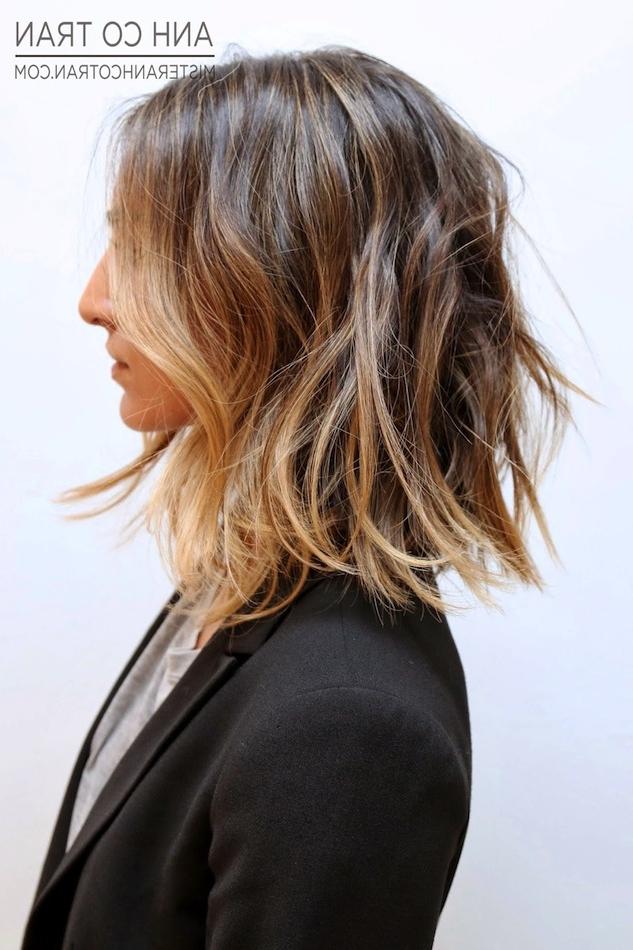 Hair Inspiration: Long Subtle Ombré Bob | Le Fashion | Bloglovin' Pertaining To Short Crisp Bronde Bob Haircuts (View 19 of 25)