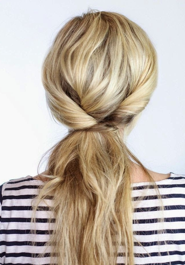 Featured Photo of Blonde Braided And Twisted Ponytails