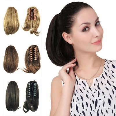 Hair Ponytails Prices And Delivery Of Goods From China On Joom E Pertaining To Sculptural Punky Ponytail Hairstyles (View 22 of 25)