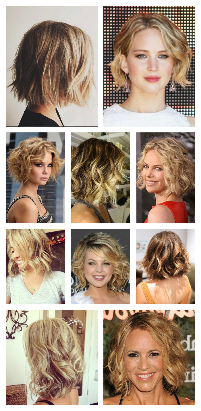 Hair Style Tutorial: Easy Beachy Waves For Short Hair – The Regarding Beach Hairstyles For Short Hair (View 15 of 25)