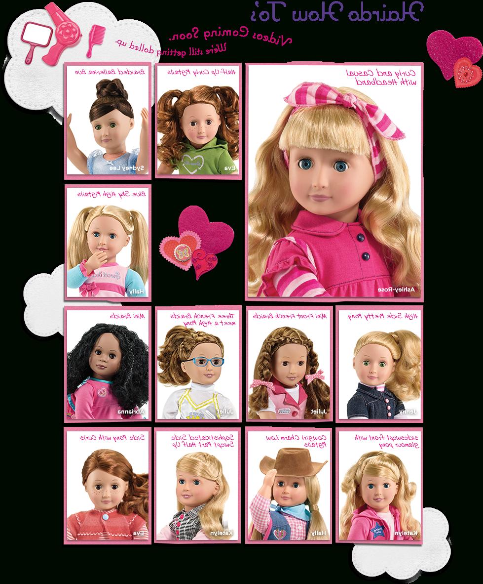 Hair Styles   American Girl – Hair Styles   Pinterest   Dolls, Girl Regarding Hairstyles For American Girl Dolls With Short Hair (View 9 of 25)