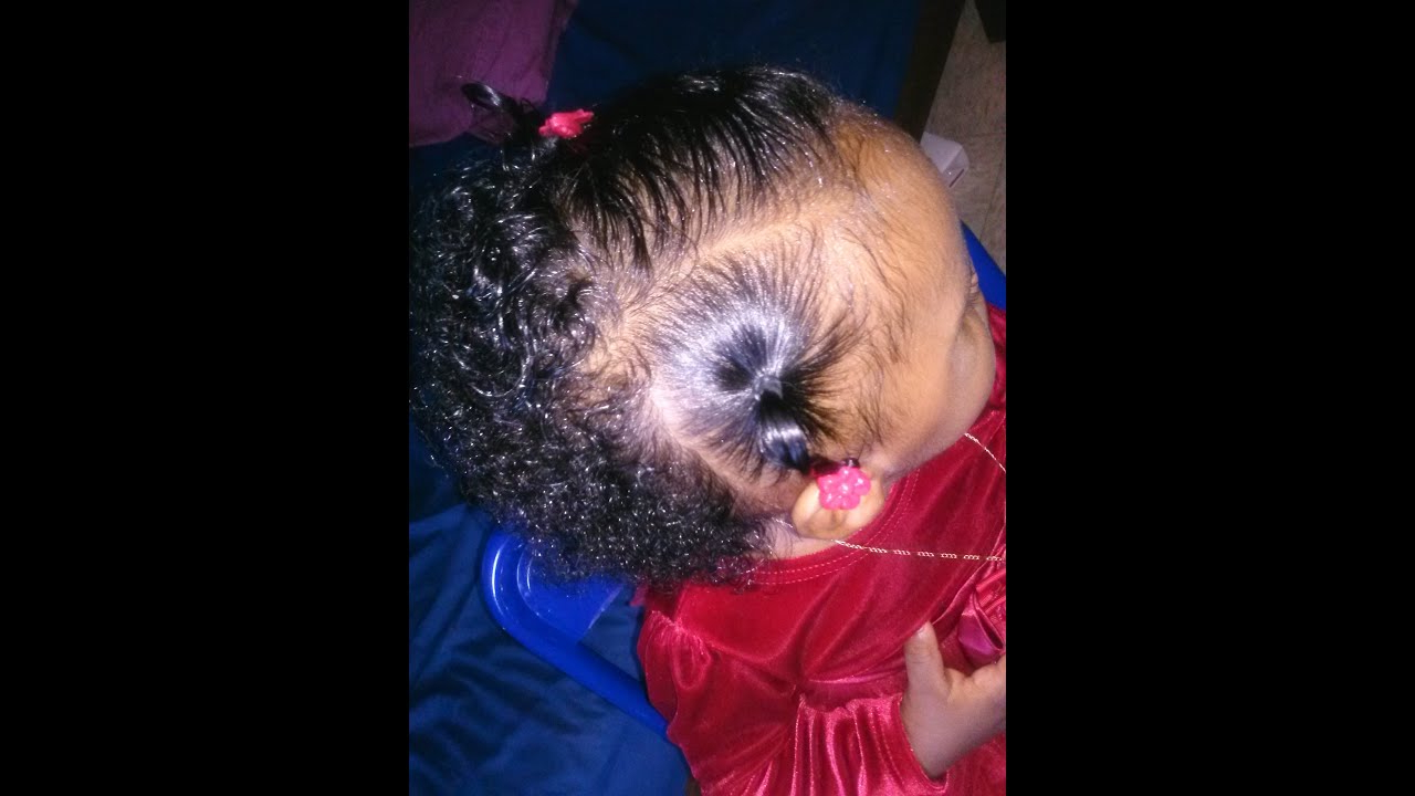 Hair Styles For Girls: Newborn To 12 Months Old – Youtube With Regard To Black Baby Hairstyles For Short Hair (View 23 of 25)