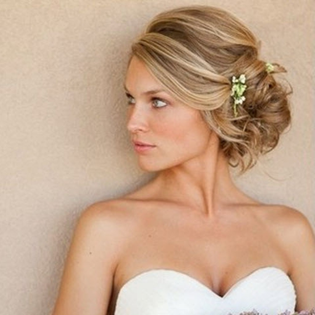 Hair Updos For A Wedding Wedding Hairstyles For Short Hair Intended Intended For Hairstyles For Brides With Short Hair (View 20 of 25)