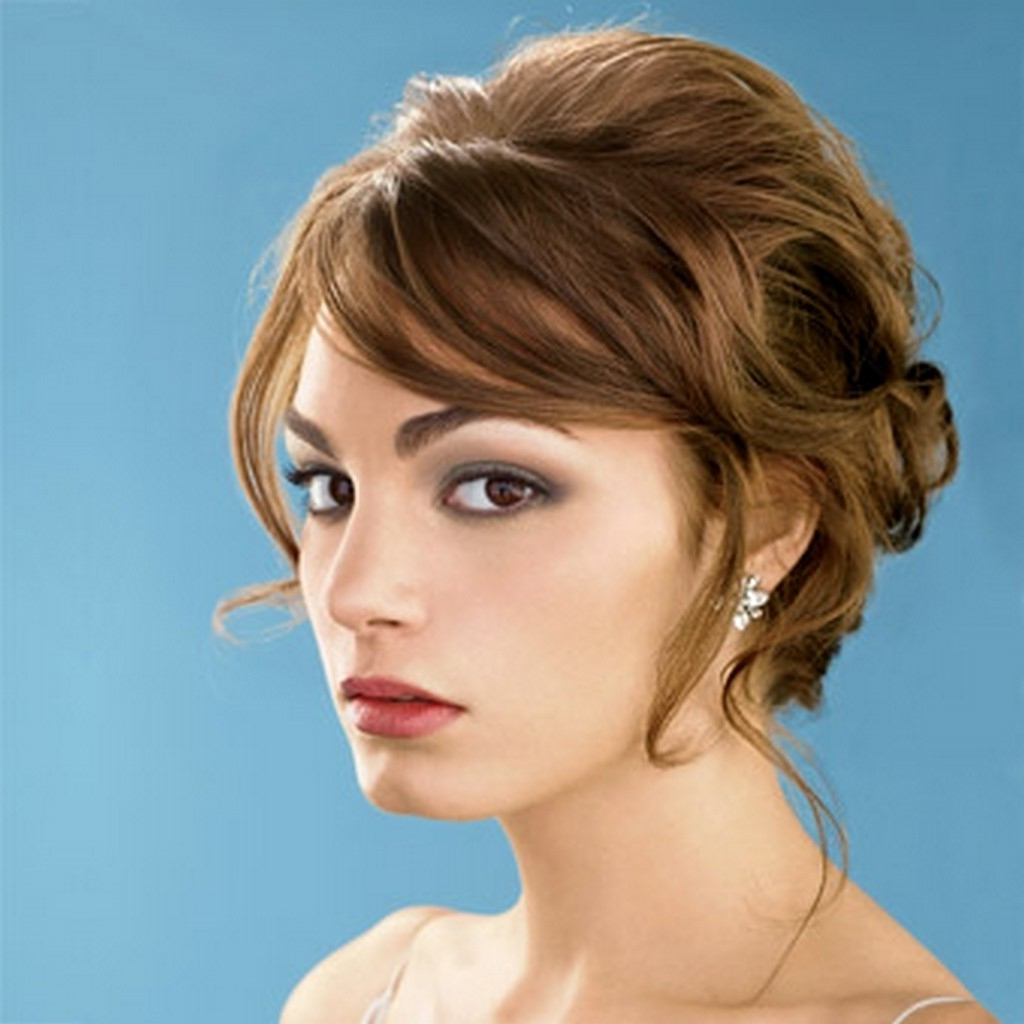 Hair Updos For A Wedding Wedding Hairstyles For Short Hair Intended Within Brides Hairstyles For Short Hair (View 17 of 25)