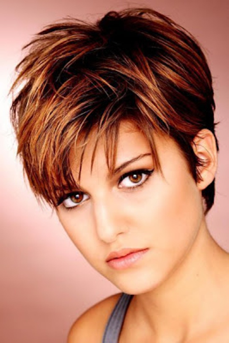 Haircuts And Hairstyles 2017: Short Haircut For Attractive Women Pertaining To Fall Short Hairstyles (View 9 of 25)