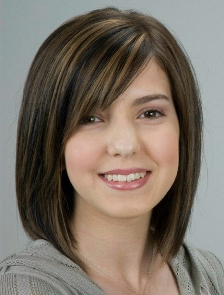 Haircuts For Thin Hair And Round Face – Leymatson Pertaining To Short Hairstyles For Round Face (View 20 of 25)