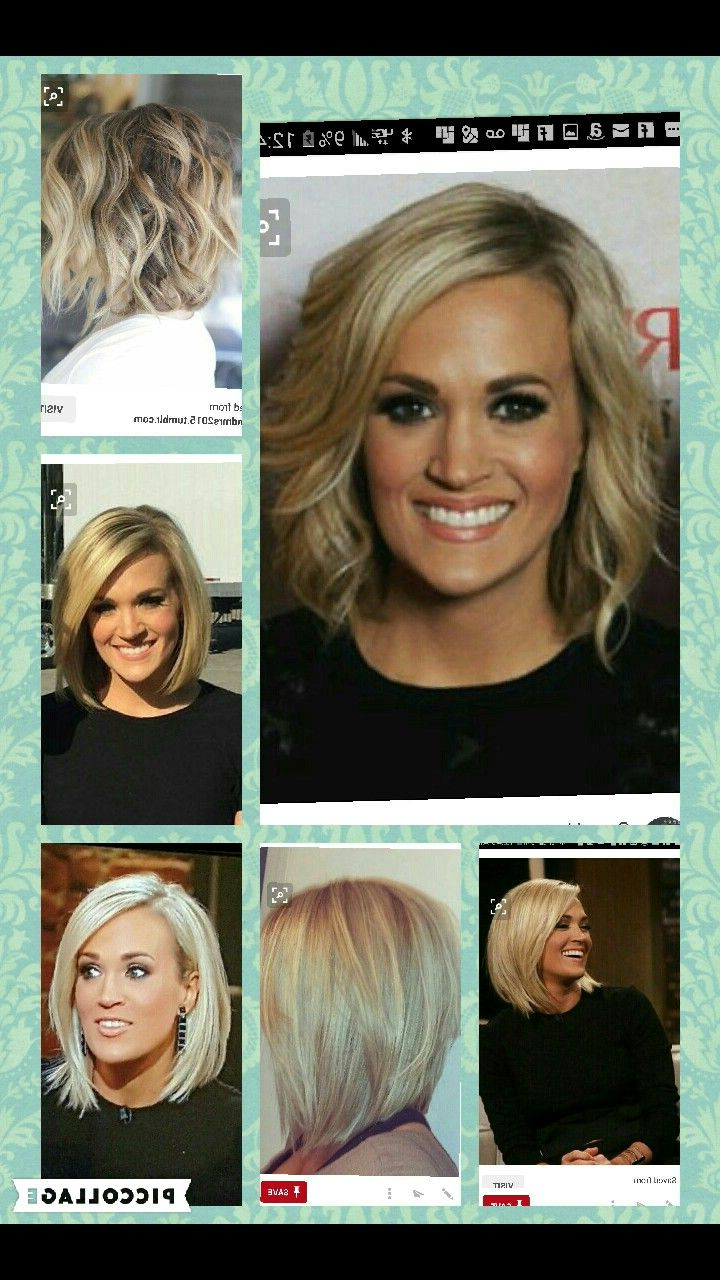 Haircuts Trends 2017/ 2018 – Carrie Underwood Bob More Within Carrie Underwood Short Haircuts (View 3 of 25)
