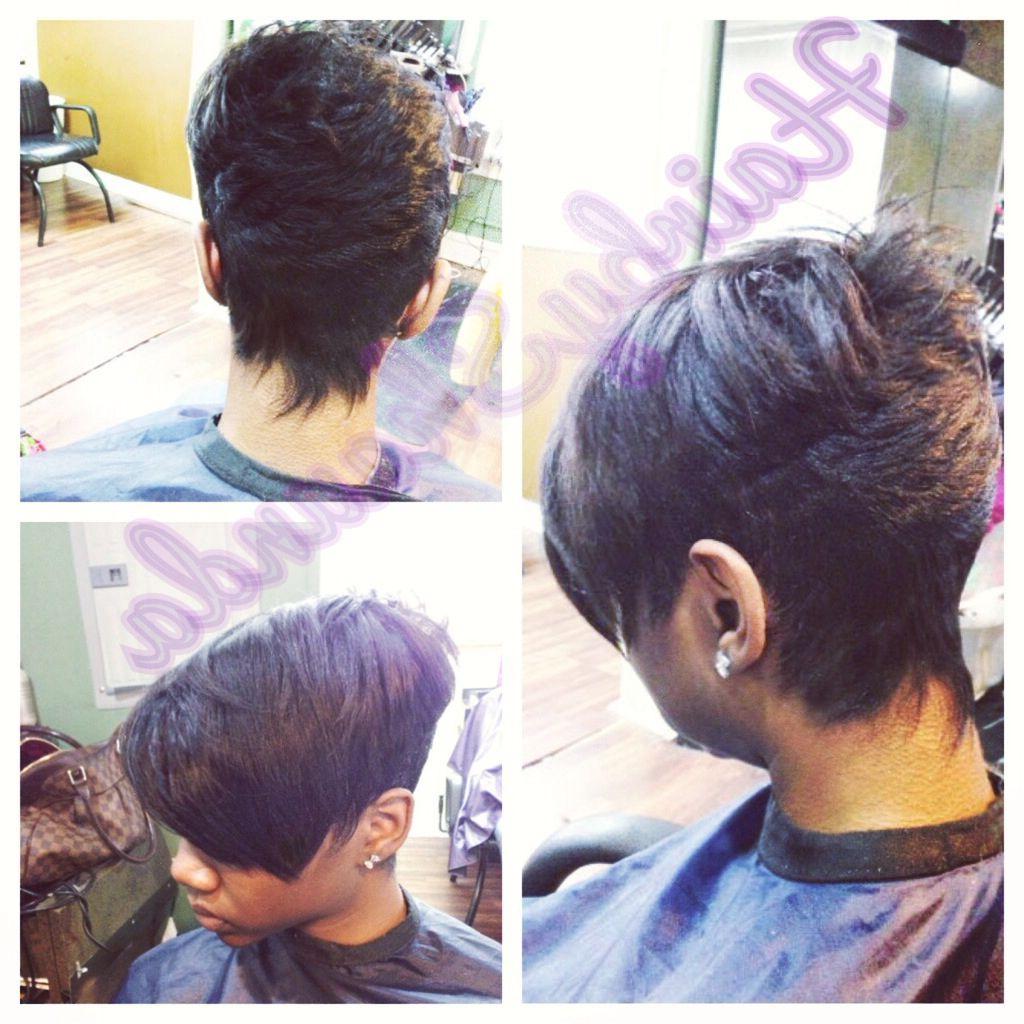 Hairshaunda , Short Cut For Black Women Razor Cut, Short Hair Inside Razor Cut Short Hairstyles (View 4 of 25)