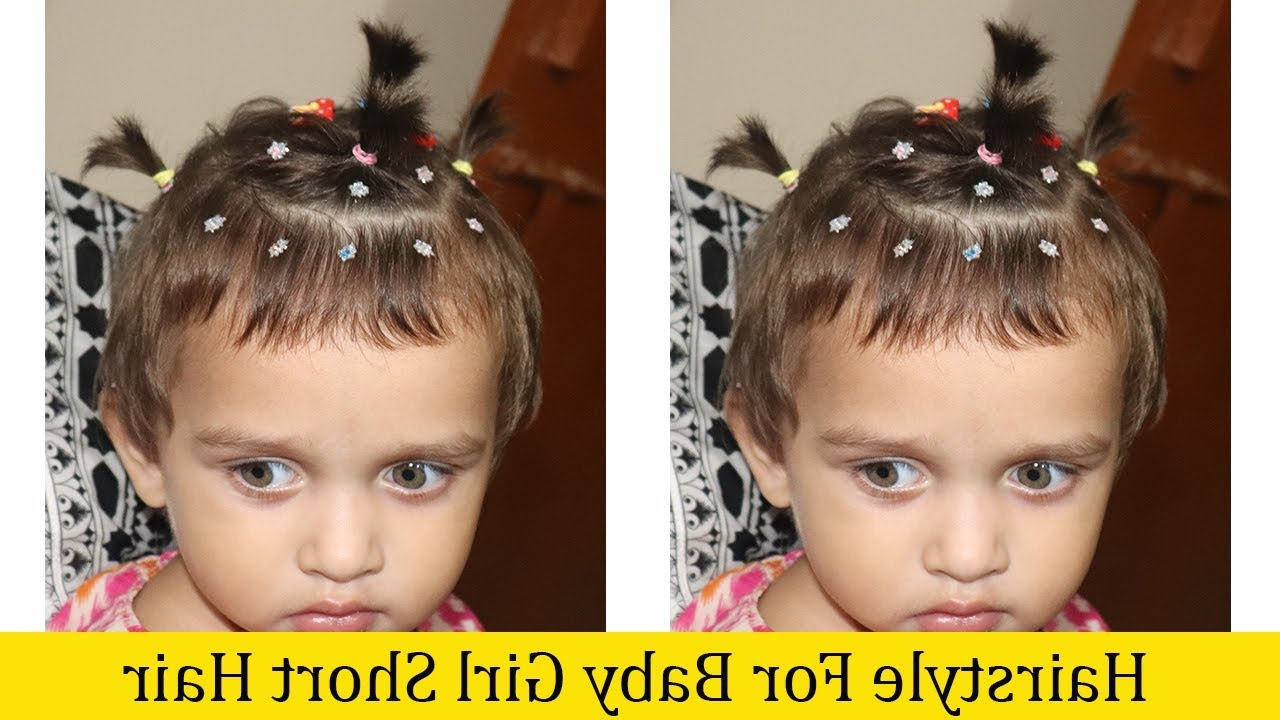 Hairstyle For Baby Girl Short Hair Beautiful Hairstyles,hairstyle Throughout Baby Girl Short Hairstyles (View 19 of 25)